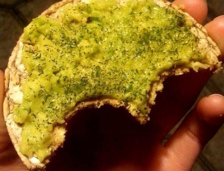 Guacamole awokado